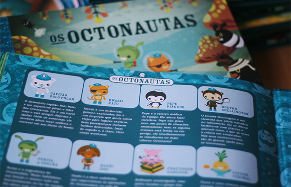 Meomi Octonauts childrens books